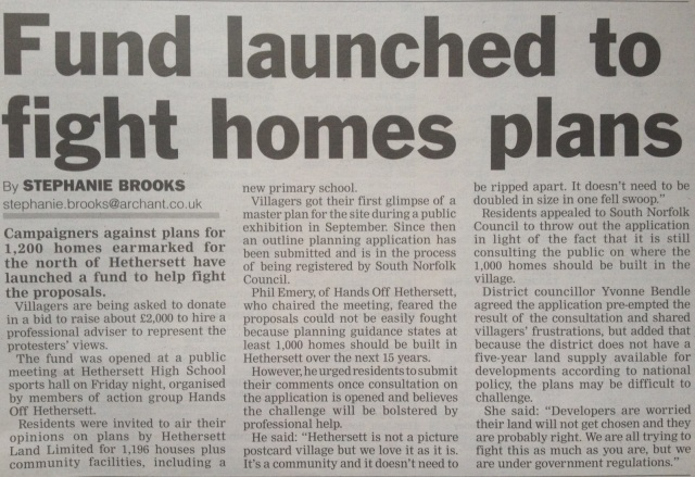 WAM Hethersett news coverage 9/11/11
